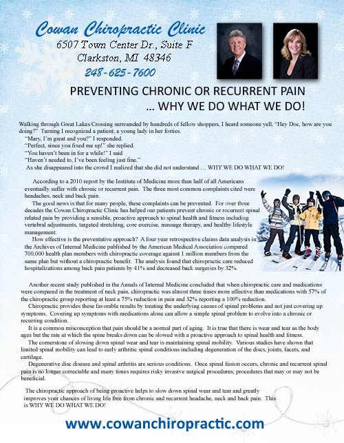 January 2013   Newsletter w